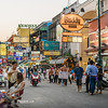 Sunset on Khao San Road