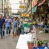 Walking Through the Flower Market