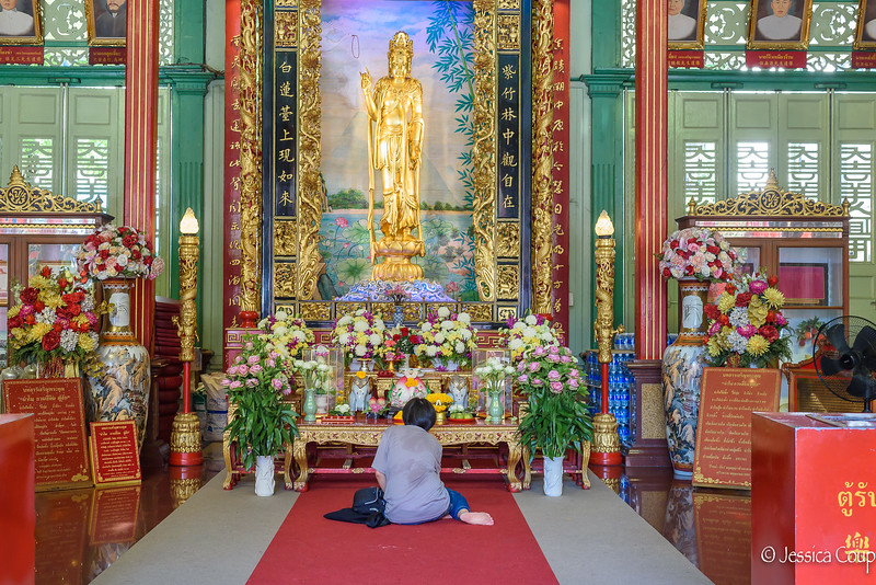 Prayers at the Temple