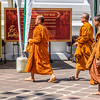 Monks at Wat Pho