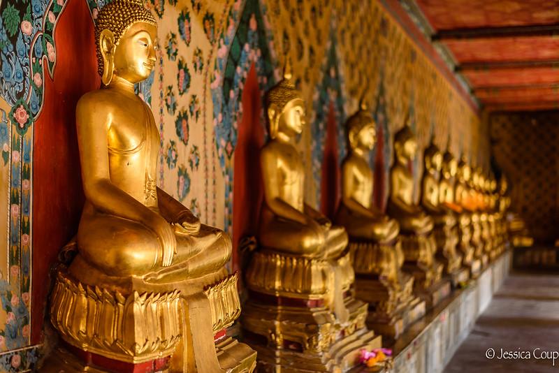 A Line of Buddhas