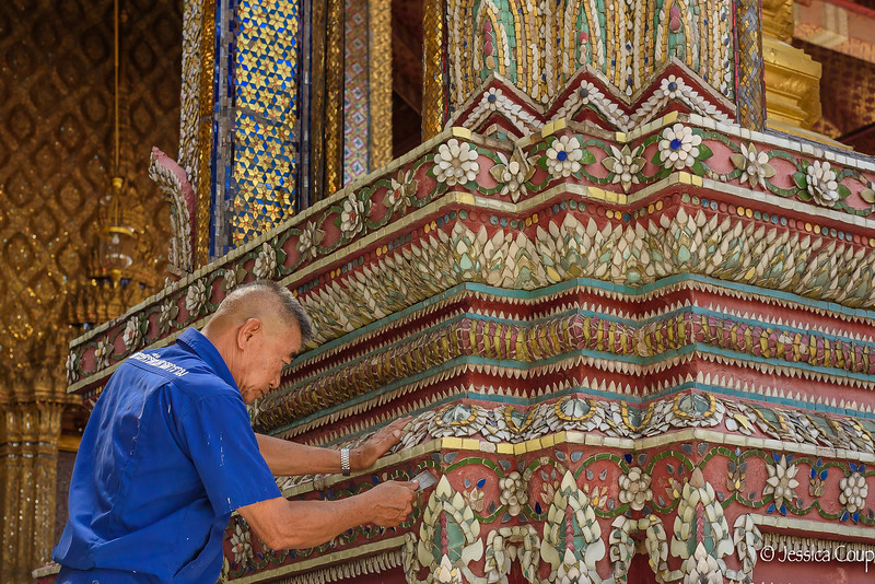 Fixing the Tiles at the Grand Palace