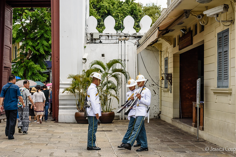 Changing of the Guard at the Grand Palace