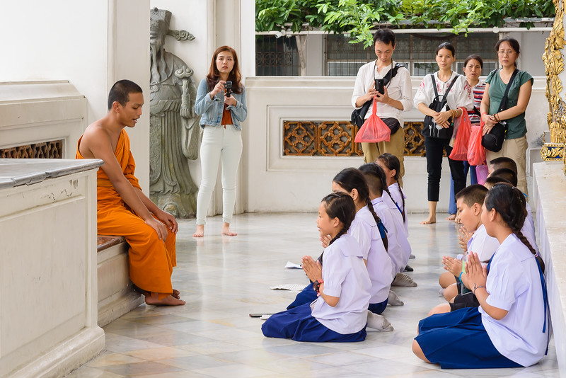 Learning at the Feet of a Monk