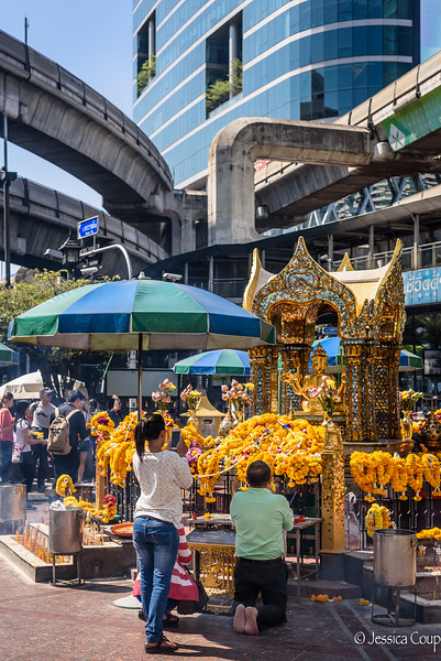In the Heart of Busy Bangkok