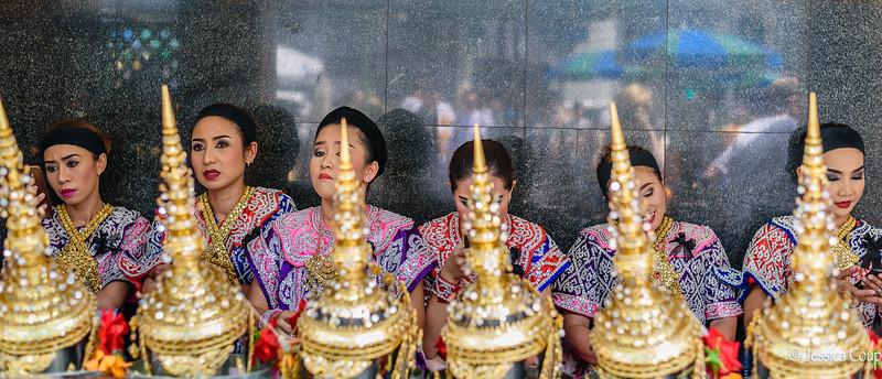 Dancers of Erawan Shrine