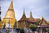 Wat Phra Kaew (The Temple of the Emerald Buddha), Bangkok, Thailand