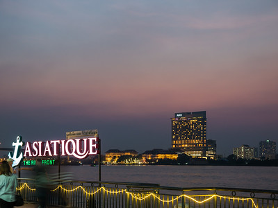 Asiatique Bangkok by Night