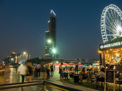 Asiatique Bangkok by Night