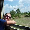 On the train from the poi pet border to Bangkok from Cambodia