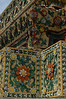 Ceramic mosaic at Wat Pho