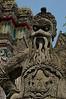 A guard at Wat Pho's entrance gate