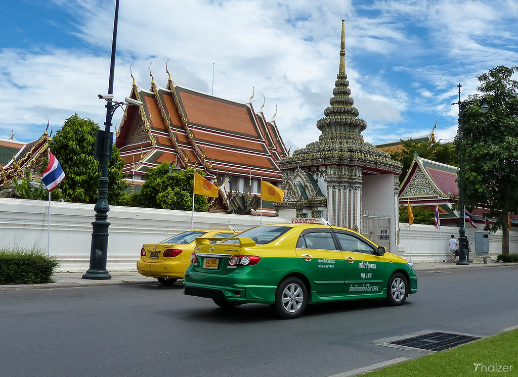 Bangkok taxi meter