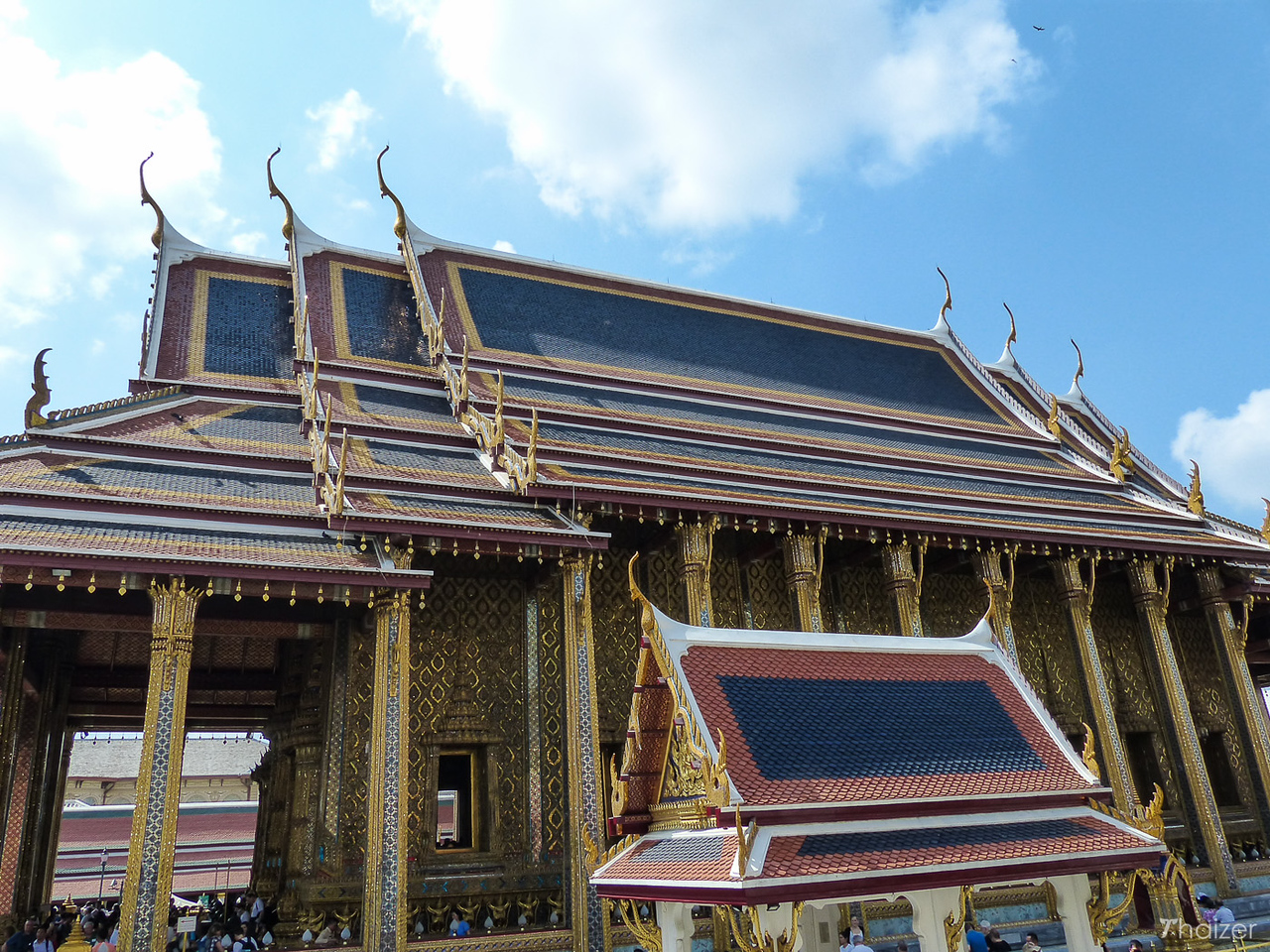 Wat Phra Kaeo, Temple of the Emerald Buddha, Bangkok