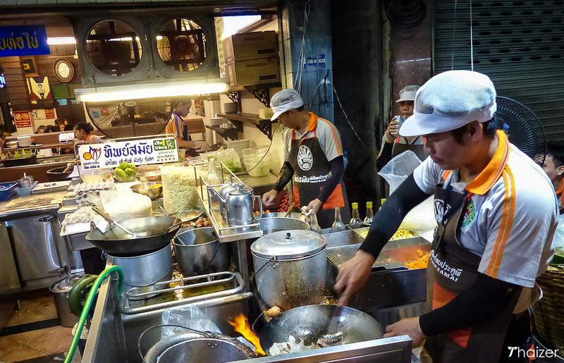 Phat Thai at Thipsamai restaurant, Bangkok