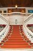 The grand staircase at the Grand Hyatt Erawan Hotel in Bangkok, Thailand, Asia.