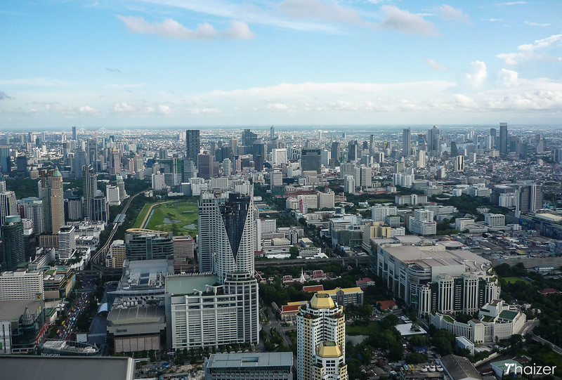 Bangkok skyline taken from Baiyoke Tower, Bangkok