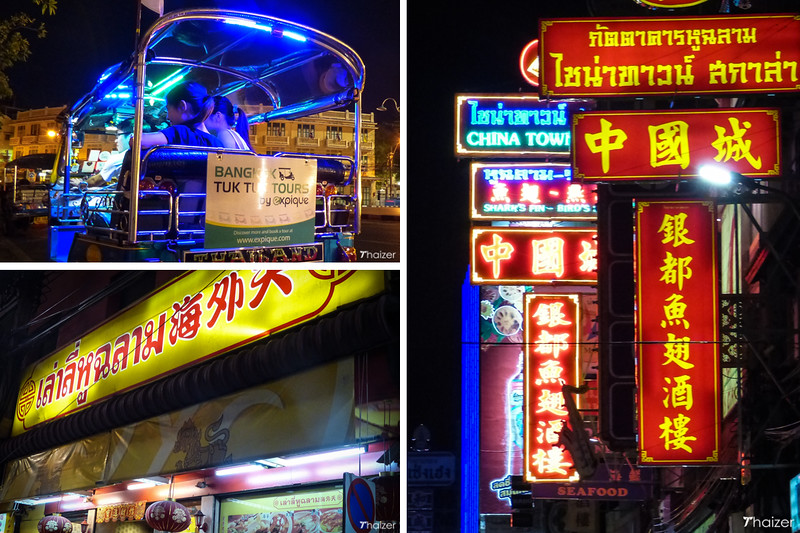 Bangkok night lights tuk-tuk tour with Expique
