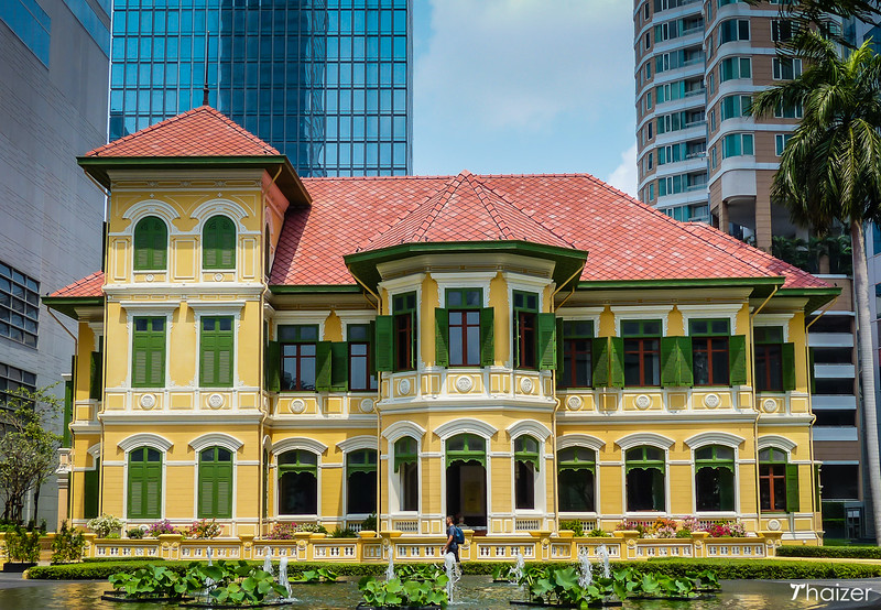 Sathorn Mansion, the House on Sathorn in front of the W Hotel