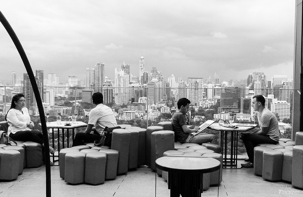 Park Society rooftop bar, Bangkok