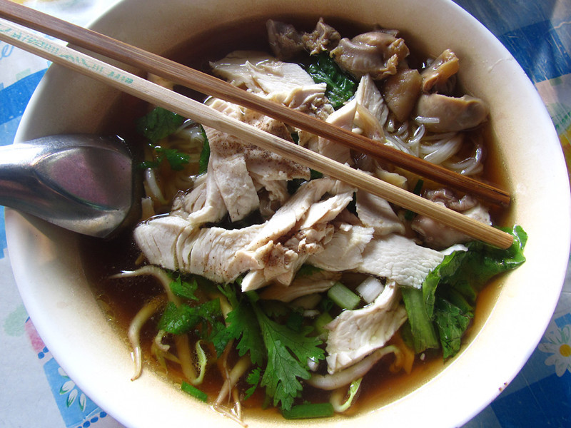 Delicious 30 Baht (US$1) Noodles © Mark Wiens