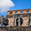 Elephants on the Temple Roof