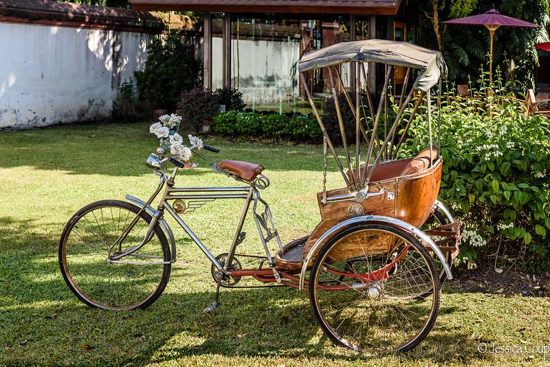 Tuk Tuk in the Yard