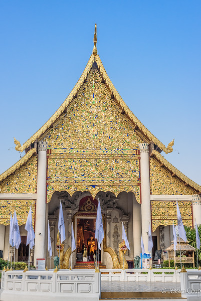 Temple Covered in Gold