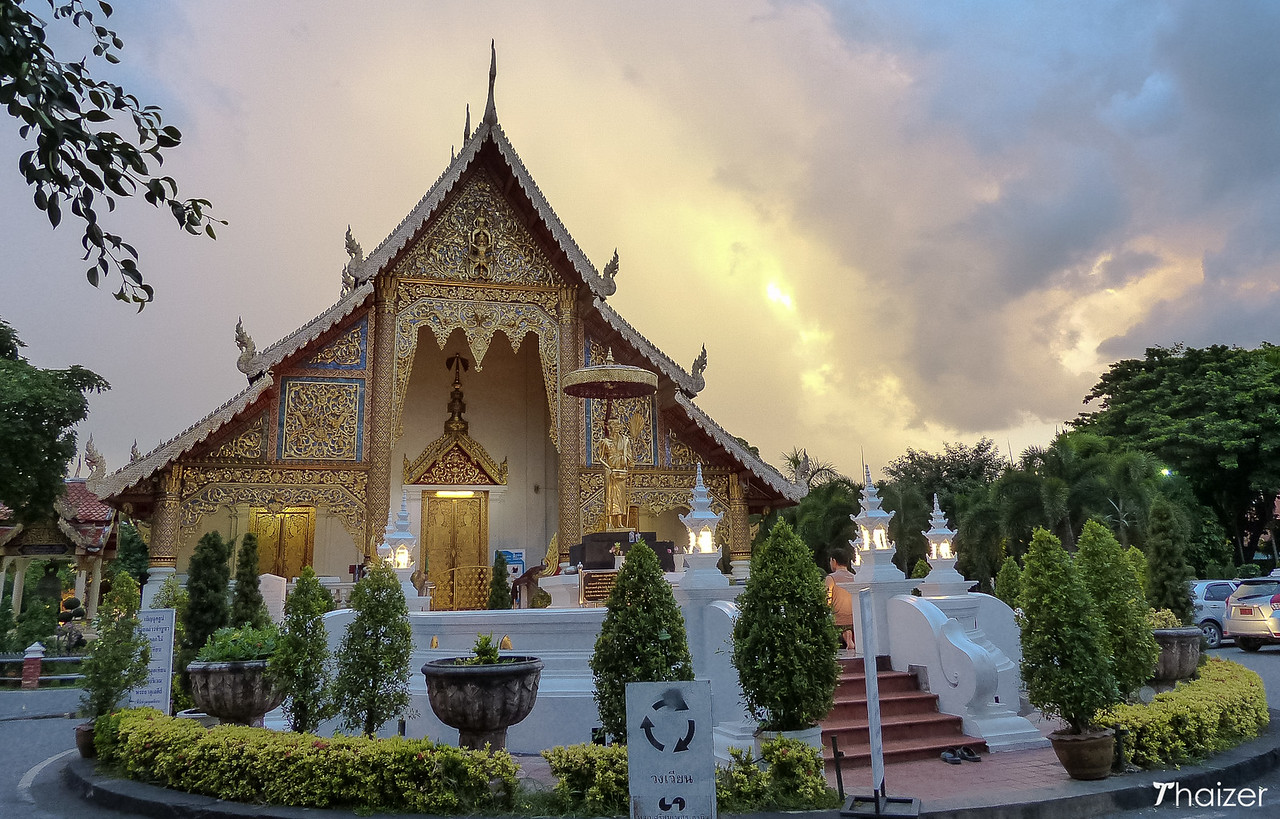 front view of Wat Phra Singh, Chiang Mai