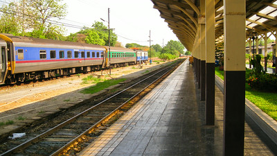 Train station--Chiang Mai, Thailand