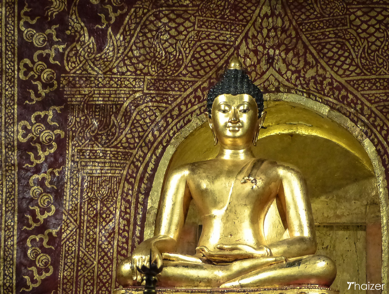 Phra Singh Buddha image, Wat Phra Singh, Chiang Mai