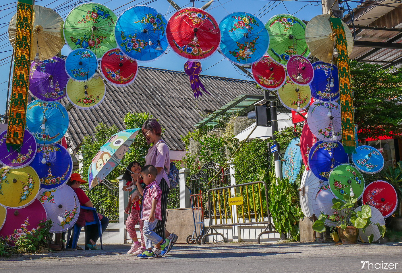 Bo Sang Umbrella Festival, Chiang Mai