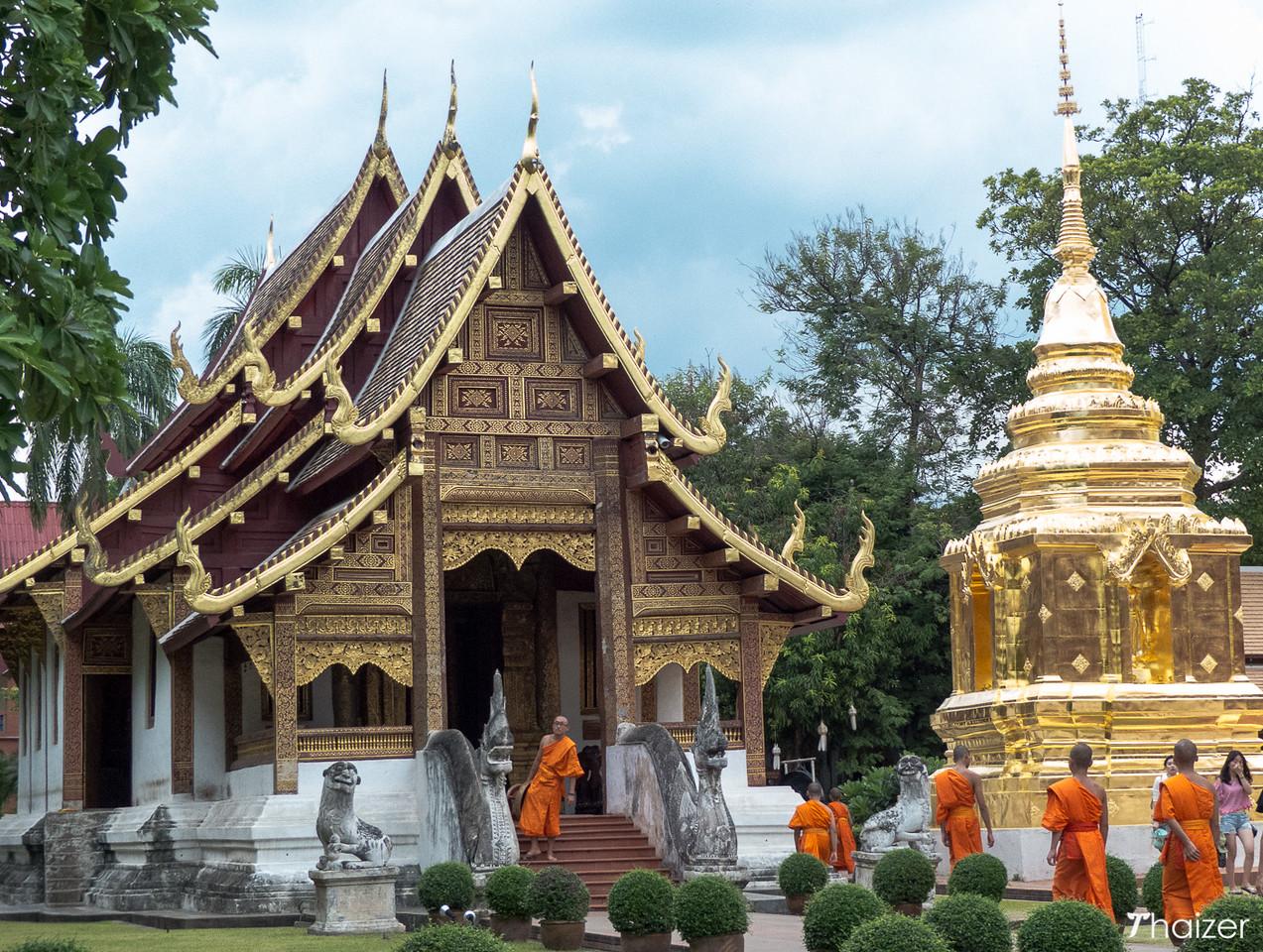 Wiharn Lai Kham, Wat Phra Singh in Chiang Mai