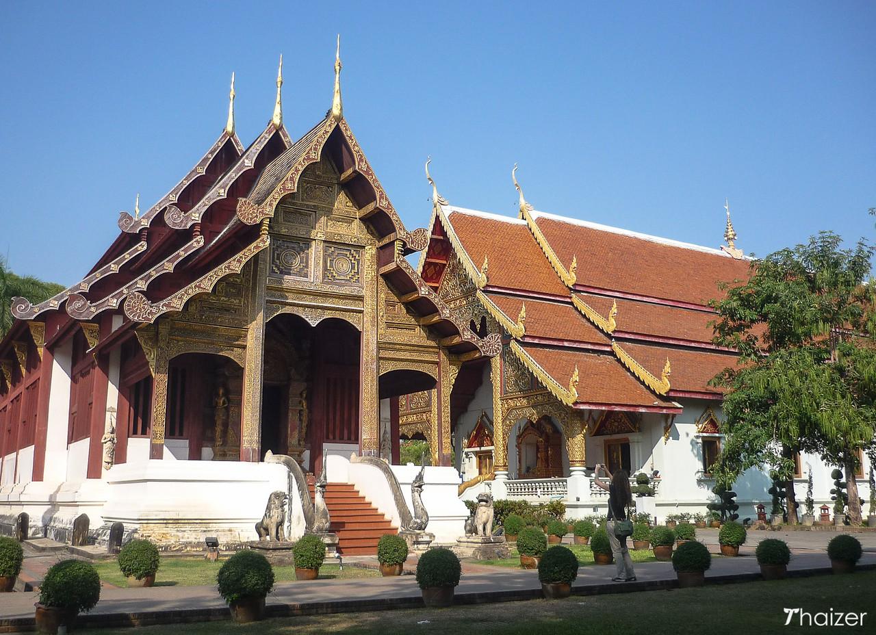 ubosot at Wat Phra Singh, Chiang Mai