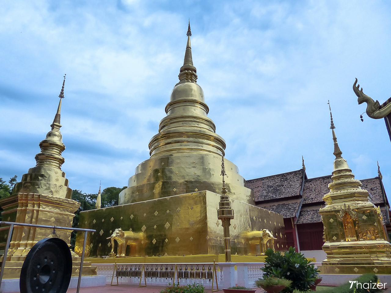 chedi at Wat Phra Singh, Chiang Mai