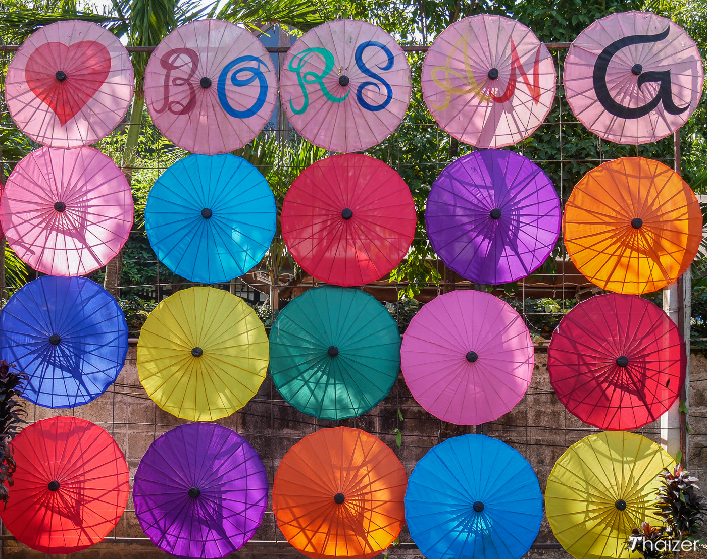 Bo Sang Umbrella Village Chiang Mai