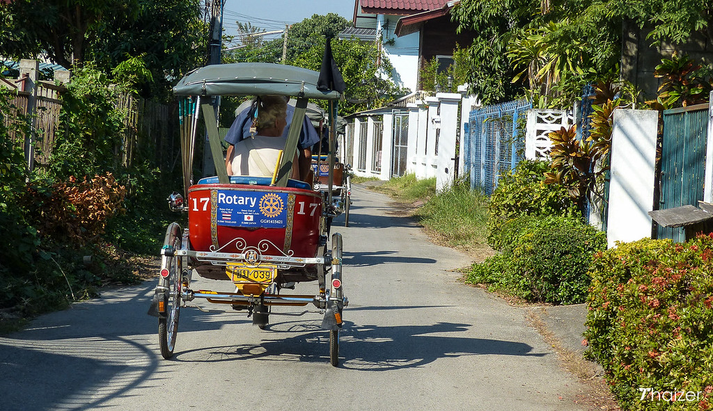 Chiang Mai bicycle taxis