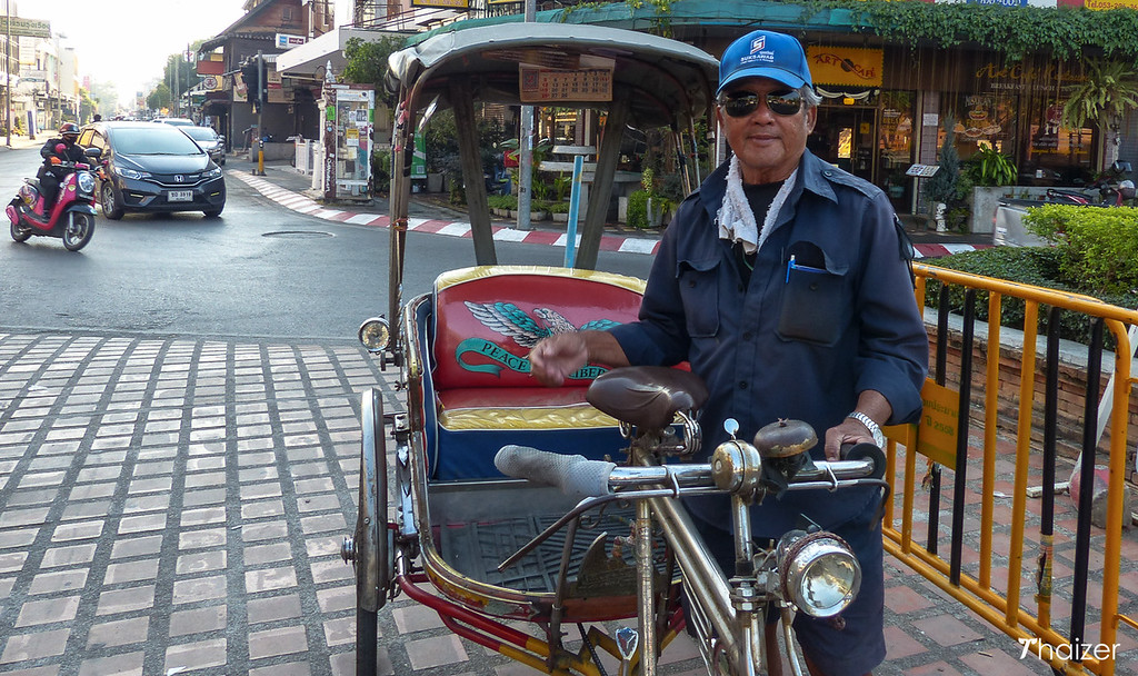 Chiang Mai samlor driver, Khun Udom