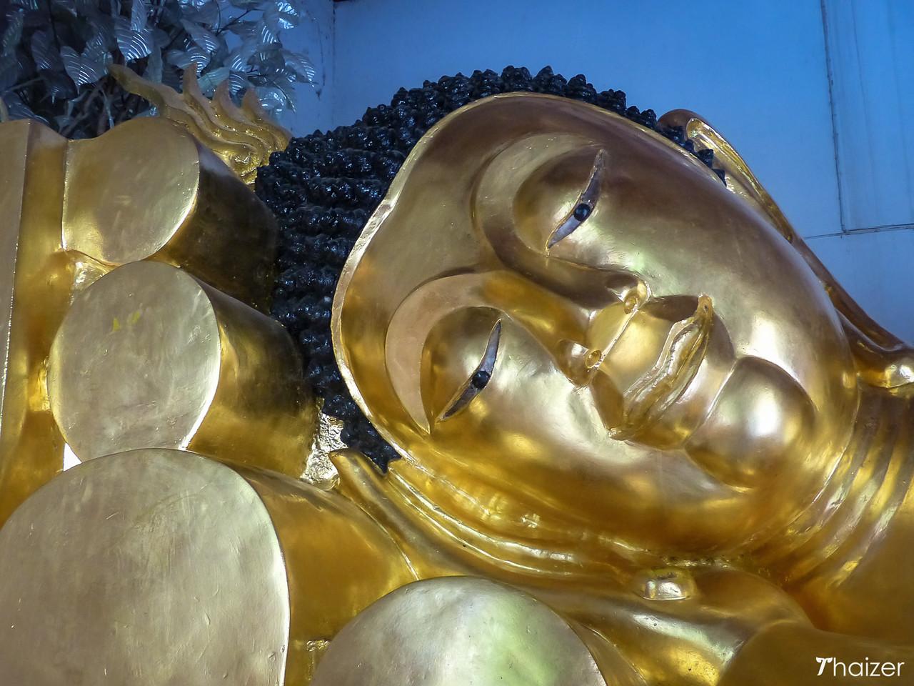 reclining Buddha at Wat Phra Singh, Chiang Mai