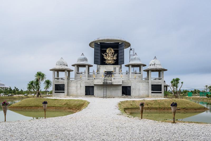 Temple Under Construction