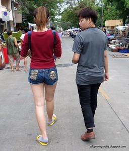Chiang Rai Walking Street Market - May 2016