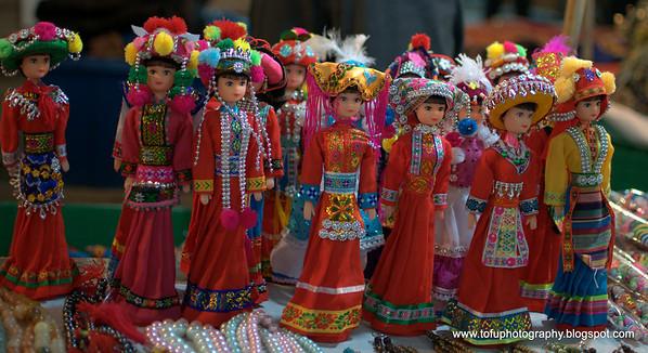 Chiang Rai night bazaar pt. 1 - December 2009