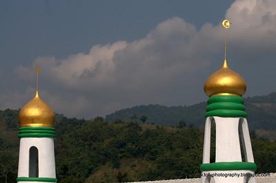 Muslim village - December 2009