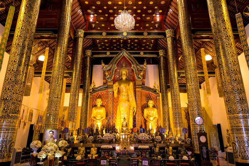 The Main Prayer Hall at Wat Chedi Luang
