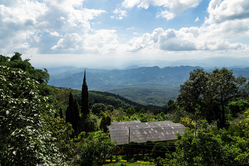 Rural view from Doi Suthep mountain