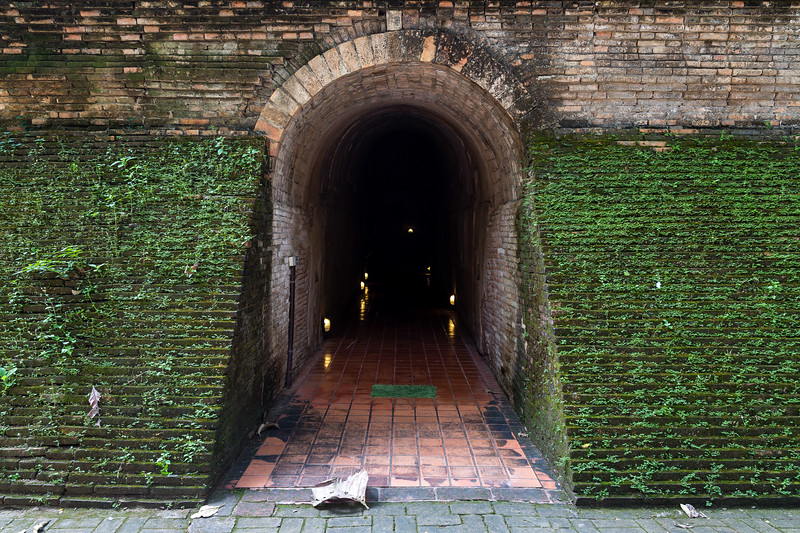 Entrance to the Tunnels of Wat Umong