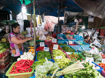 Chaingmai Market Vendor