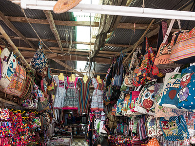 Colorful Hmong Market