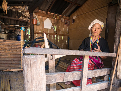 The Hmong Weaving Lady