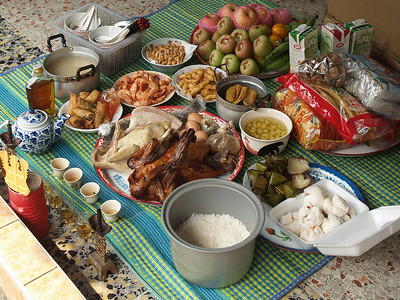 Banquet for their ancestors